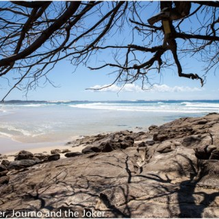 Postcard greetings – exploring Fraser Island