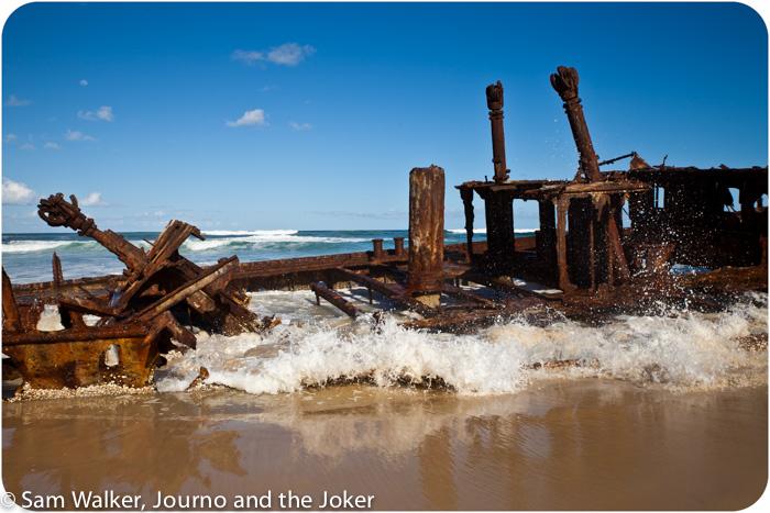 The Maheno, Fraser Island