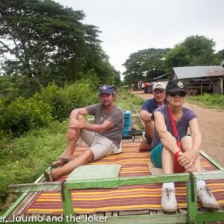 All aboard Battambang's bamboo train