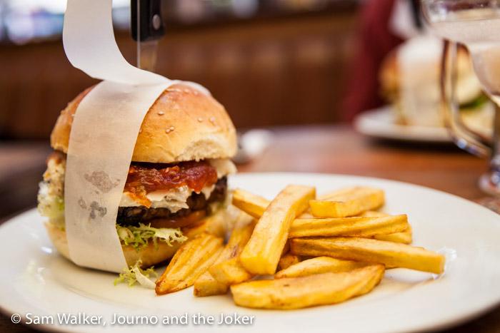 Beatnik, best burger in Siem Reap