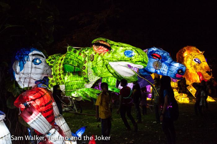Giant Puppet Parade, Siem Reap, 2016