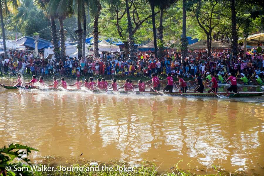 Bon om Touk, Water Festival 2015, Siem Reap