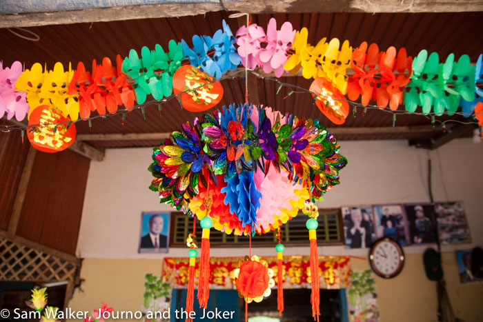 Happy Khmer New Year - decorations are elaborate