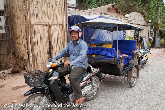 Cambodia's tuk tuks - part of the travel experience