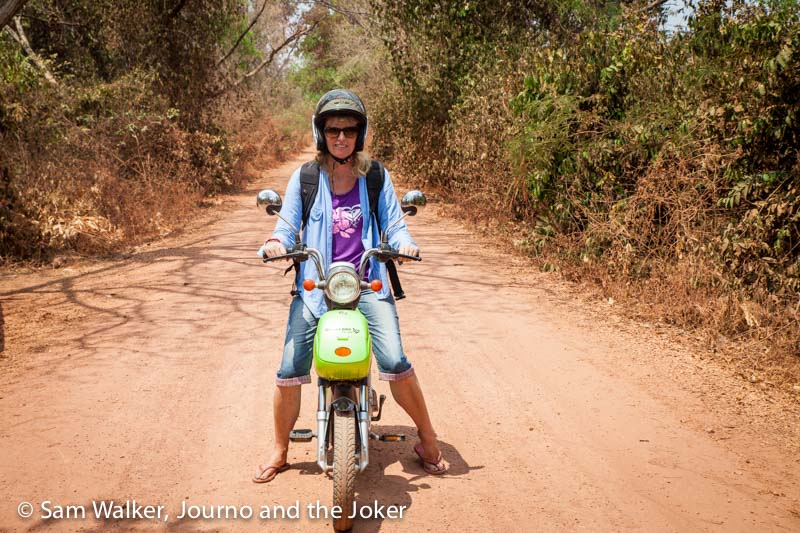 Siem Reap e-bike adventure into the countryside