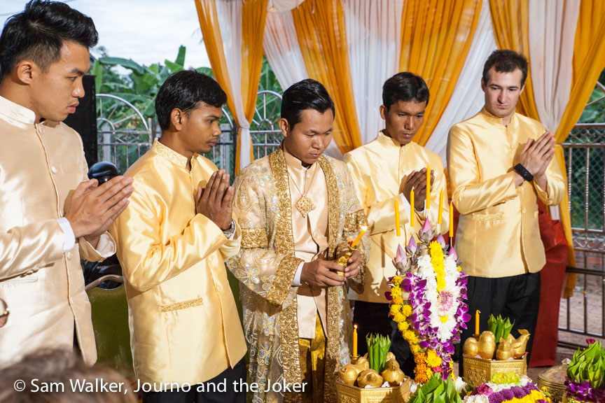 traditional Khmer wedding