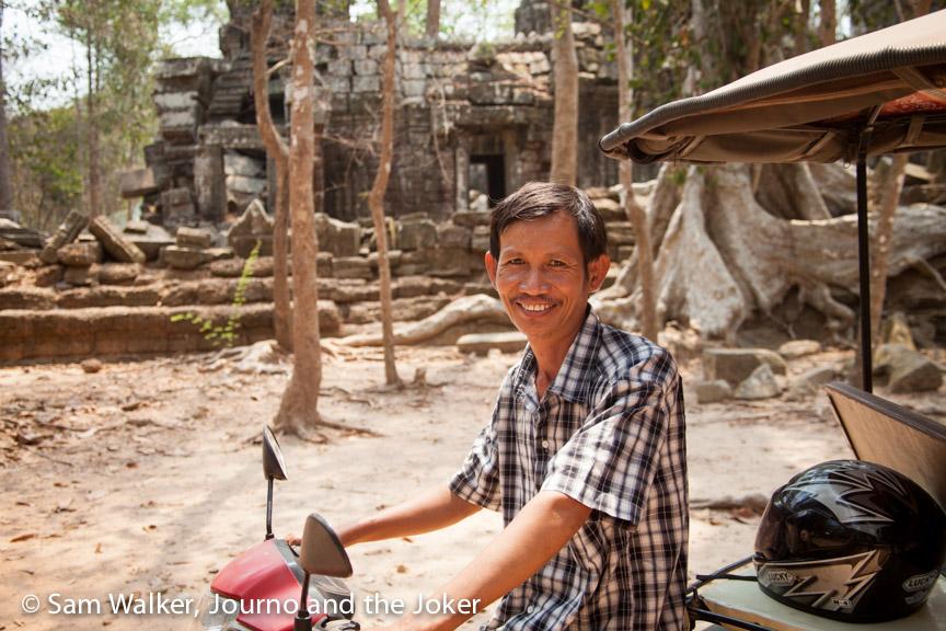 Marom Hem best tuk tuk driver Siem Reap