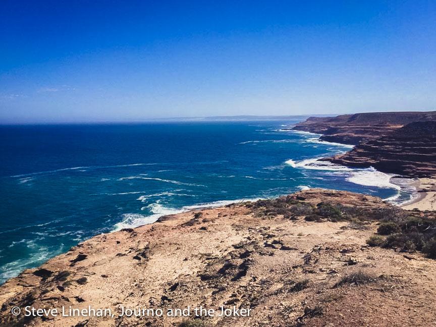 The beautiful Western Australian coastline