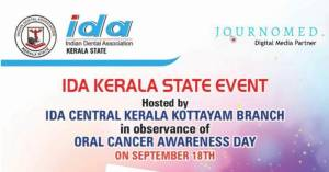 IDA Kerala State's e-poster competition for oral cancer awareness