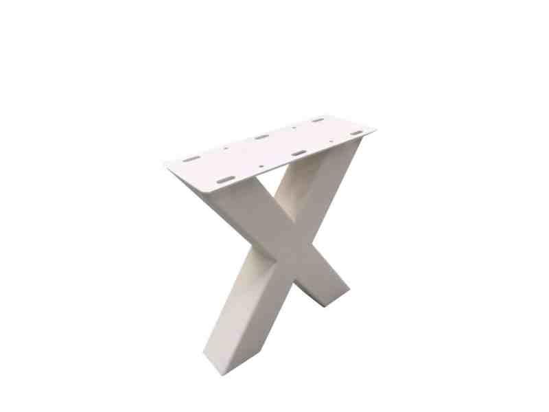 mat wit x onderstel klein