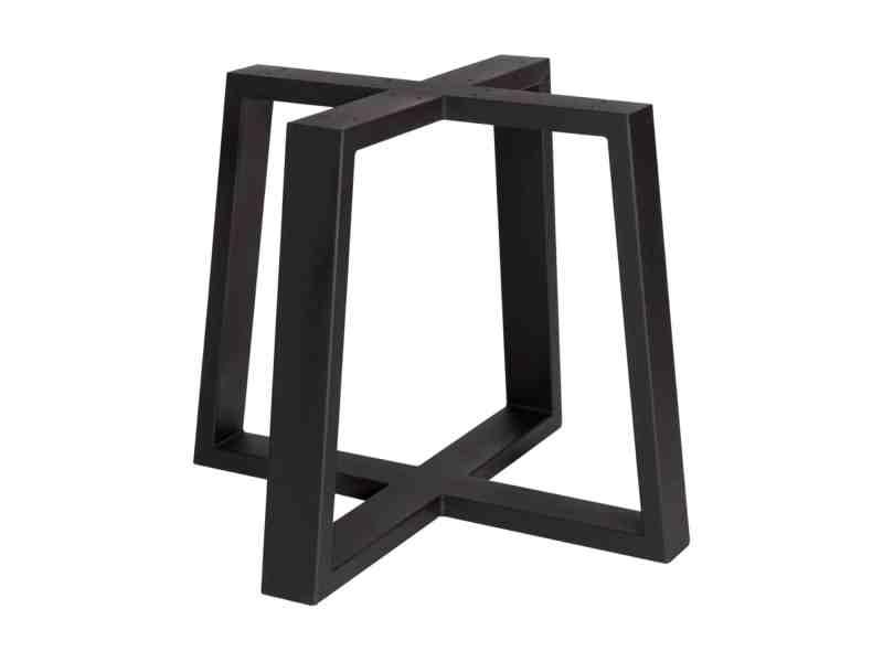 mat zwarte 2xU trapezium mixer poot