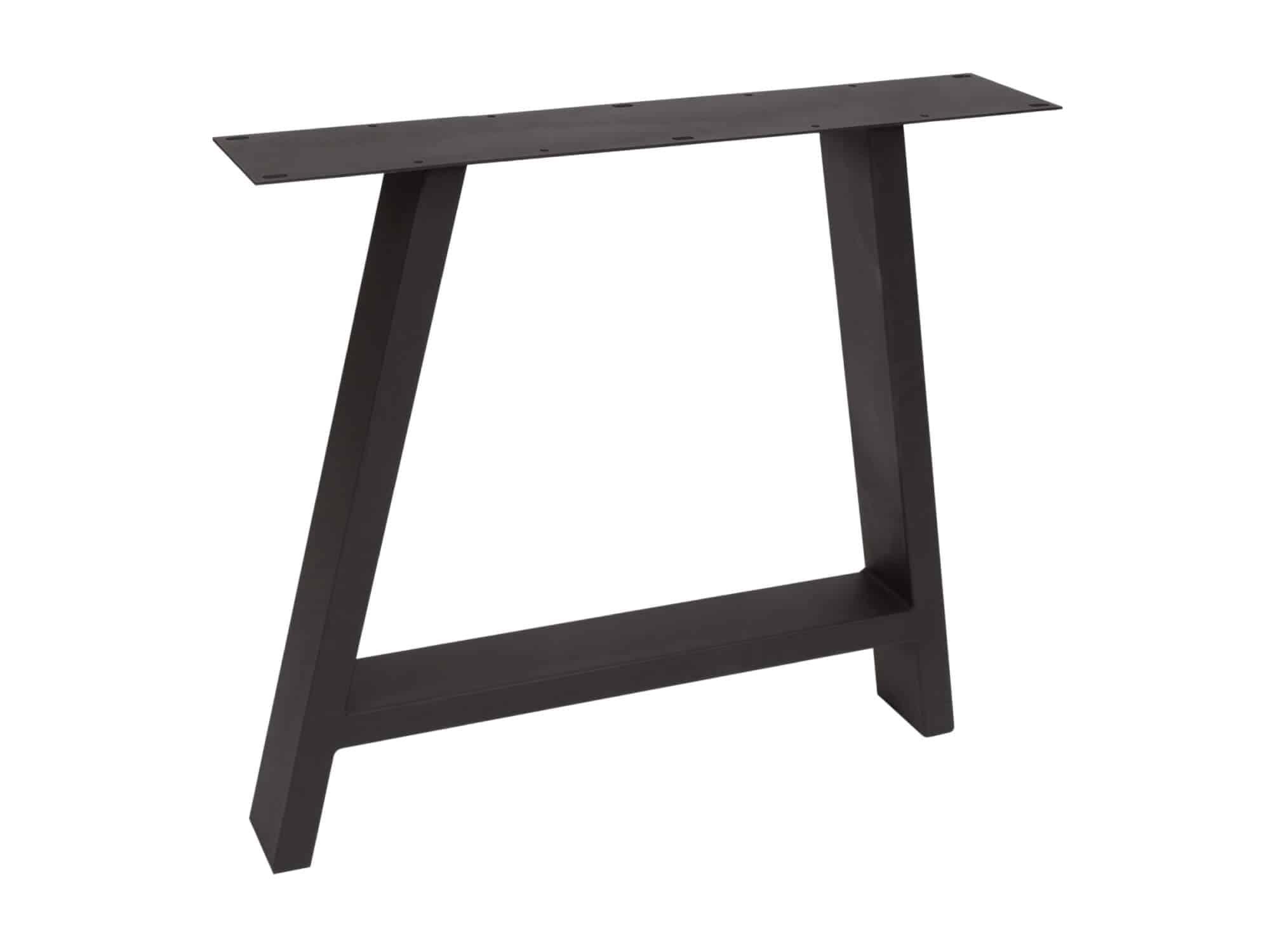 Elegante A poot mat zwart - P3004