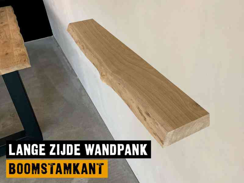 Wandplank boomstamkant