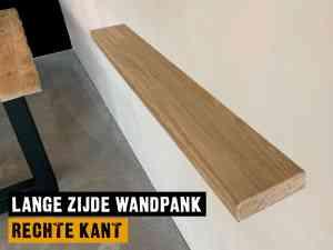 Wandplank rechte kant