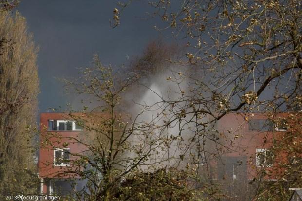 groningen-kostverloren-friesestraatweg-tuin in de stad-gaslek storm 28-10-6