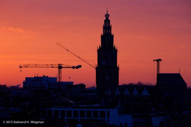 Sunset bouwkranen oostwand-2230_1_2_tonemapped