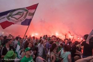 huldiging FC Groningen