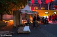 nederland 2015, groningen, centrum, nacht van kunst en academiegebouw, broerstraat
