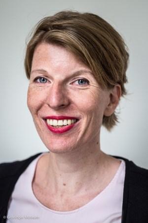 Nederland, Groningen, 27-08-'15; Karina Smrkovsky, hoofd Communicatie, Marketing & PR van het Groninger Museum. Foto: Kees van de Veen