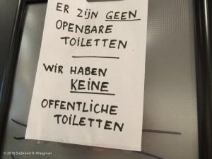 Toiletten Vroom en Dreesmann_