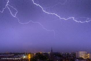 bliksem donder onweer -0977-© 2019 Siebrand H. Wiegman
