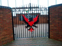 Pheonix gate at the Catholic memorial