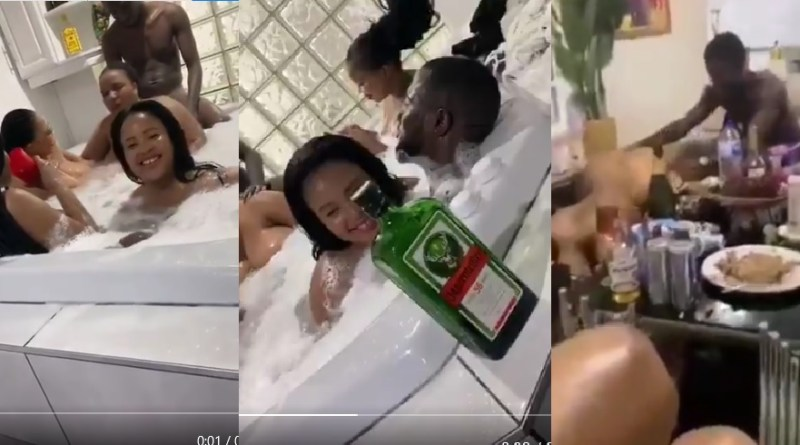 Videos-Mzansi-Slay-Queens-Doing-Mapona-For-Nigerian-Blessers