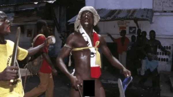 Joshua Milton Blahyi, the man who fights naked and ate human flesh for power turned pastor
