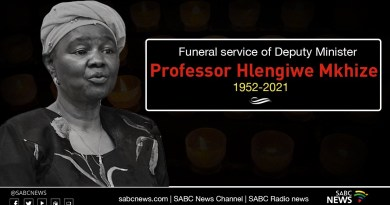 Watch Live: Hlengiwe Mkhize Funeral ceremony