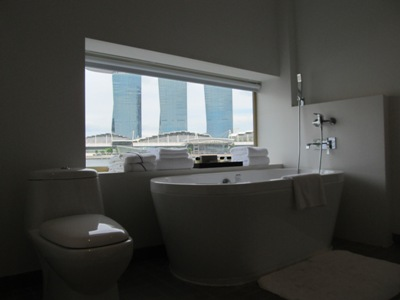 the toilet of the merlion hotel