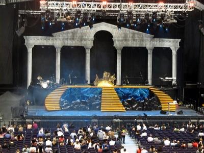 Aphrodite Live Singapore stage
