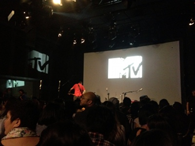 MTV Session: James Morrison, stage