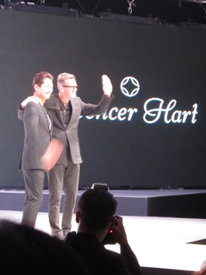 Nick Hart from Spencer Hart with Benedict Goh