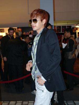 Se7en at the Men's Fashion Week 2012 Singapore Opening Party