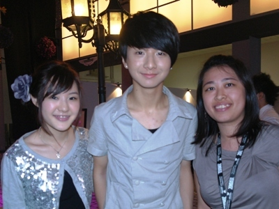 with Megan Lee and Sungha Jung