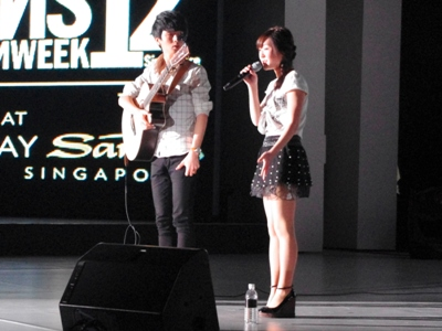 Sungha Jung and Megan Lee performing together