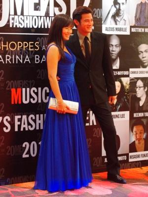 Randall Tan and Melody Chen