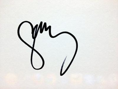 Gary Lightbody's autograph