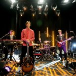Kyle Patrick and band. Photo by Aloysius Lim / MTV Asia