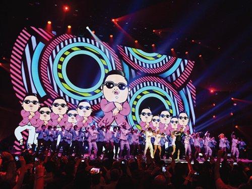 Oppa Gangnam Style! © Getty Images/MTV