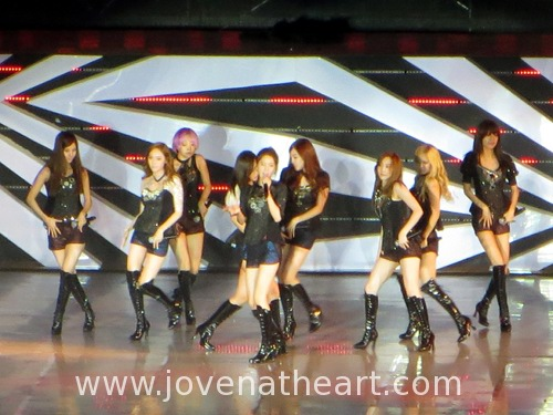 Girls's Generation/SNSD during The Boys