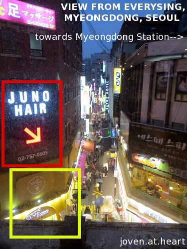 Everysing, Myeongdong