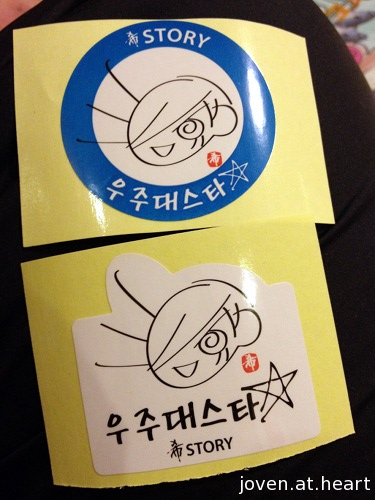 freebies - stickers