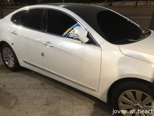 SHINee Minho's car