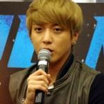 CN Blue World Tour: Blue Moon Singapore Press Conference -- Yonghwa