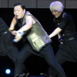 Psy at the Singapore Social Concerts
