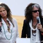 Aerosmith at the Social Star Awards 2013 press conference