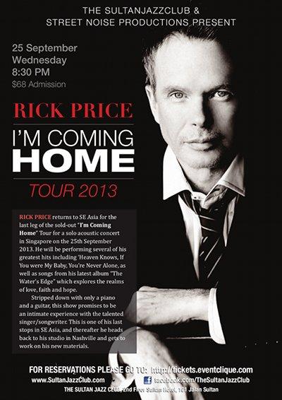 Rick Price Singapore 2013