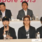 B1A4 at MBC Korean Music Wave Singapore concert Press Conference
