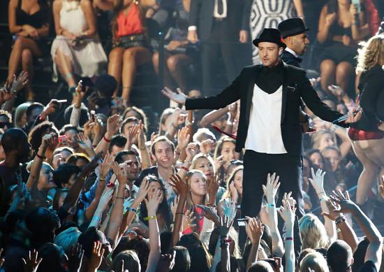 2013 MTV Video Music Awards - Justin Timberlake